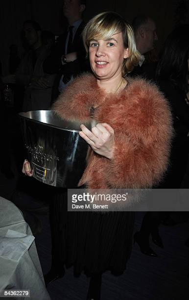 Helene Darroze attends the Tatler Restaurant Awards at the Mandarin Oriental Hotel on January 19 2009 in London England