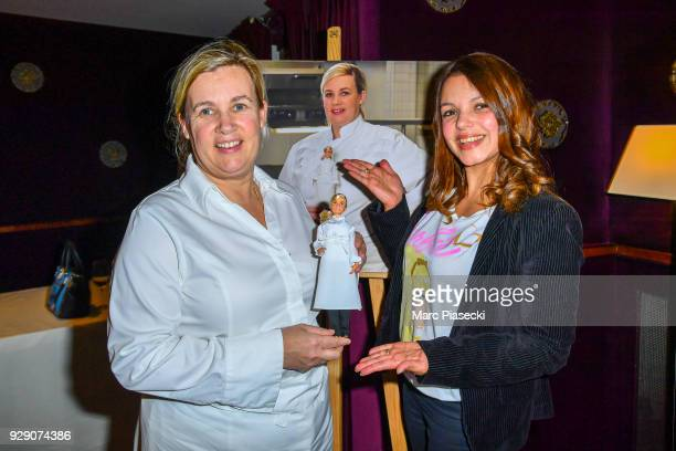 Helene Darroze WorldRenowned Chef France Inspirational fourthgeneration French chef with three restaurants and two Michelin stars poses with her...