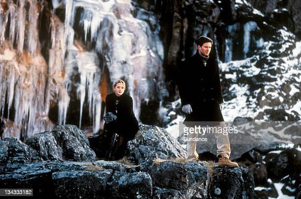 "Helene de Fougerolles and Hilmir Snaer Gudnason in Baltasar Kormakur's ""The Sea"""