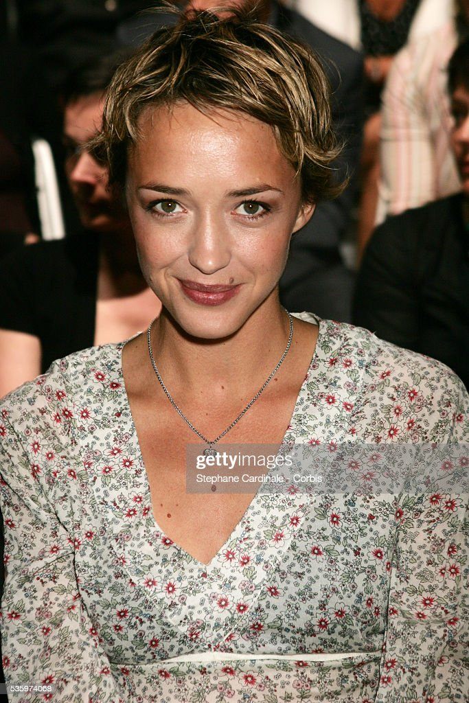 Helene de Fougerolles at the 'Comptoir des Cotonniers' fashion show held in Paris.