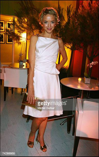 Helene de Fougerolles attend a dinner sponsored by magazine Madame Figaro to celebrate the Sixtieth Anniversary of the IFF on May 23 2007 in Cannes...