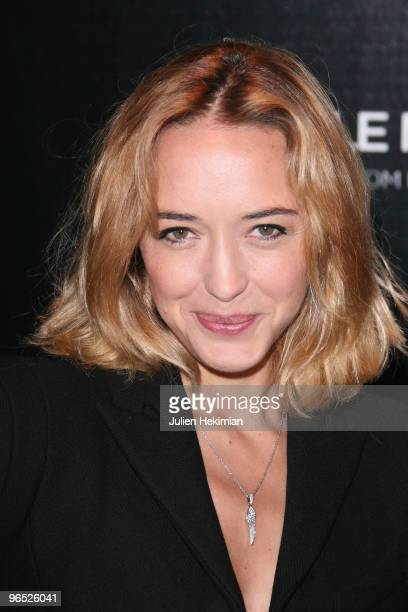 """Helene de Fougerolles attends the """"A Single Man"""" Paris premiere at Cinema UGC Normandie on February 9, 2010 in Paris, France."""