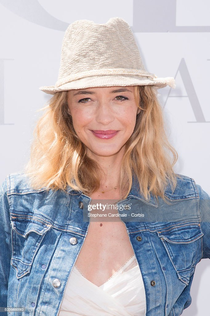 Helene De Fougerolles attends the 'Brunch Blanc' hosted by Barriere Group. Held on Yacht 'Excellence' on June 29, 2014 in Paris, France.