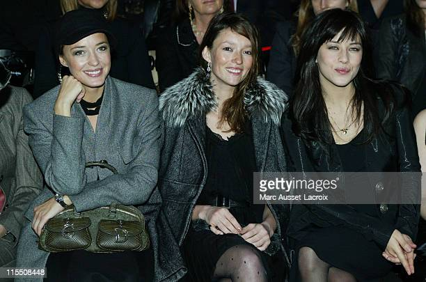 Helene de Fougerolles Audrey Marnay and Mylene Jampanoi