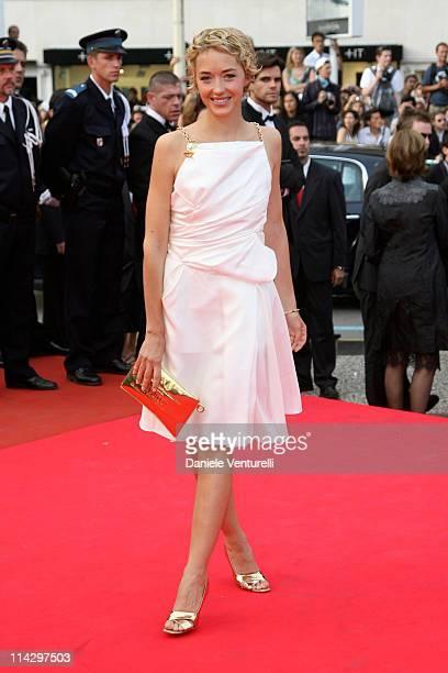 "Helene de Fougerolles during 2007 Cannes Film Festival - ""Auf der Anderen Seite"" Premiere at Palais des Festival in Cannes, France."