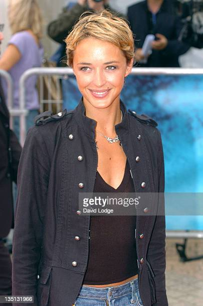"""Helene De Fougerolles during 32nd Deauville Film Festival - """"An Inconvenient Truth"""" - Premiere at Deauville Film Festival in Deauville, France."""