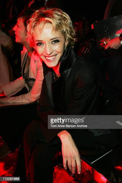 Helene de Fougerolles during Paris Fashion Week - Autumn/Winter 2006 - Ready to Wear - Christian Dior - Front Row at Grand Palais in Paris, France.