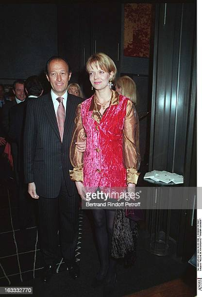 Helene De Yougoslavie and Thierry Gaubert at the Gala In Aid Of Combatting AIDS Organised By Plus Pharmacie In 1998