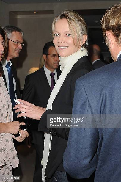 Helene de Yougoslavie former wife of Thierry Gaubert attends the Hotel Mandarin Oriental Inauguration at Hotel Mandarin Oriental on September 22 2011...