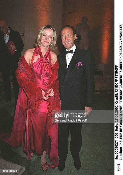 Helene De Yougoslavie Thierry Gaubert Chopard party in Versailles