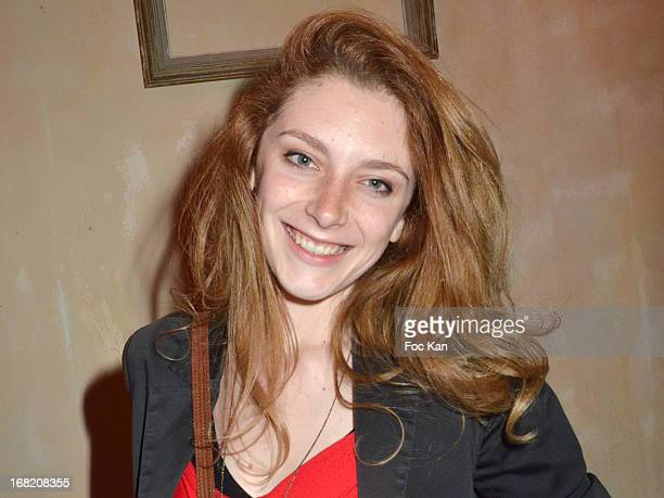 Helene Degy attends the 'Speakeasy' Party At The Lefty Bar Restaurant on May 6 2013 in Paris France