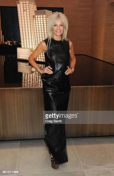 Helene Feldman attends the opening of The XI Gallery With Bjarke Ingels Es Devlin and Helene Ziel Feldman on April 25 2018 in New York City