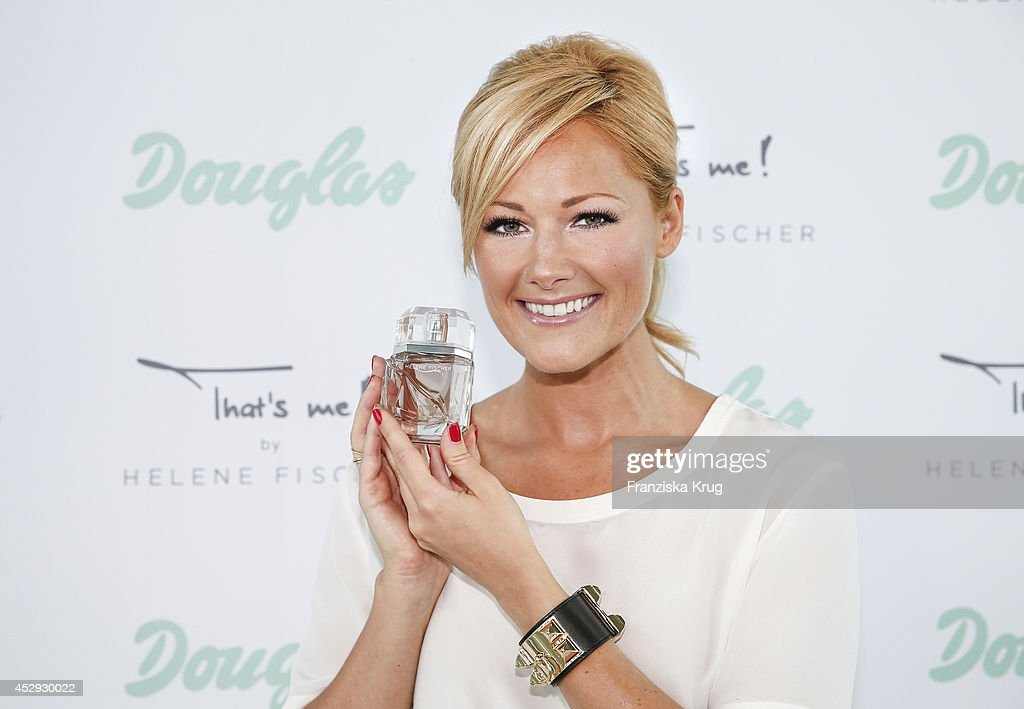 Douglas And Helene Fischer Launch Fragrance 'That's Me' : News Photo