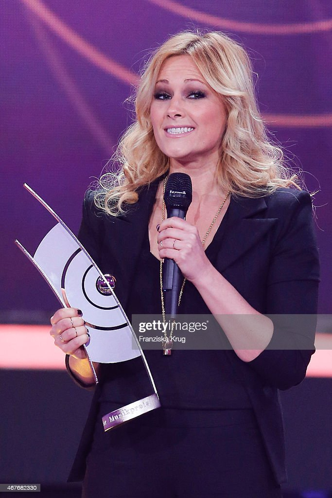Helene Fischer attends the Echo Award 2015 show on March 26, 2015 in Berlin, Germany.