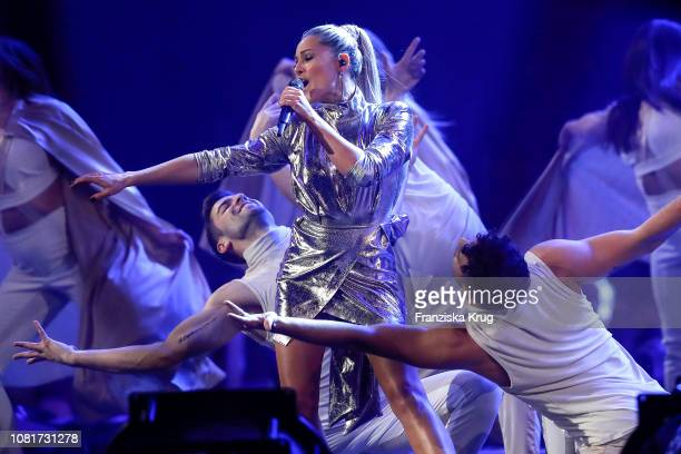 Helene Fischer during the television show 'Schlagerchampions Das grosse Fest der Besten' at Velodrom on January 12 2019 in Berlin Germany