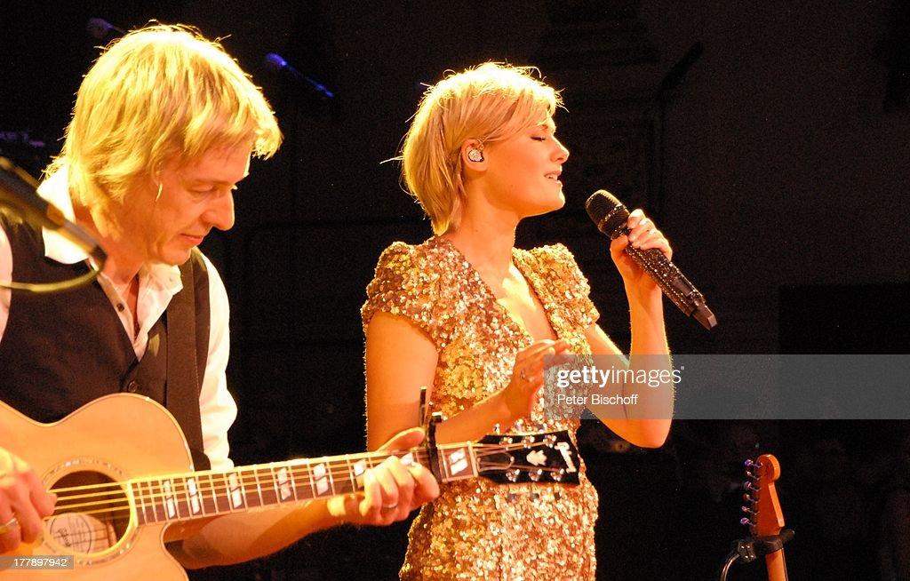 Helene Fischer , Gitarrist , MDR-Live-Konzert bei 7