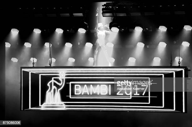Helene Fischer performs during the Bambi Awards 2017 at Stage Theater on November 16 2017 in Berlin Germany