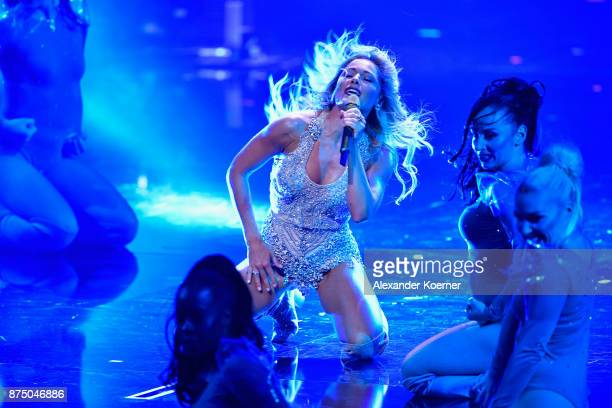 Helene Fischer performs on stage during the Bambi Awards 2017 show at Stage Theater on November 16 2017 in Berlin Germany