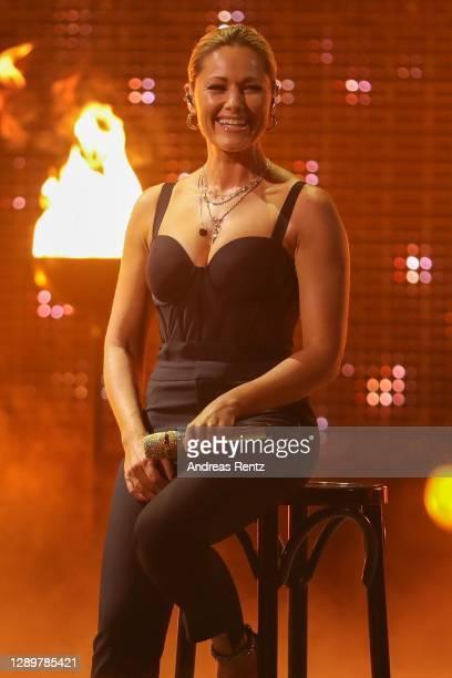 """Helene Fischer performs on stage during the tv show """"2020! Menschen, Bilder, Emotionen! - Der grosse RTL Jahresrueckblick"""" on December 06, 2020 in..."""