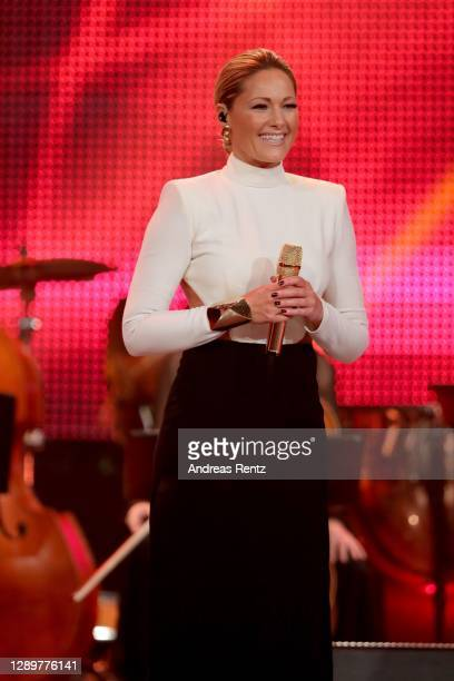 """Helene Fischer seen on stage during the tv show """"2020! Menschen, Bilder, Emotionen! - Der grosse RTL Jahresrueckblick"""" on December 06, 2020 in..."""