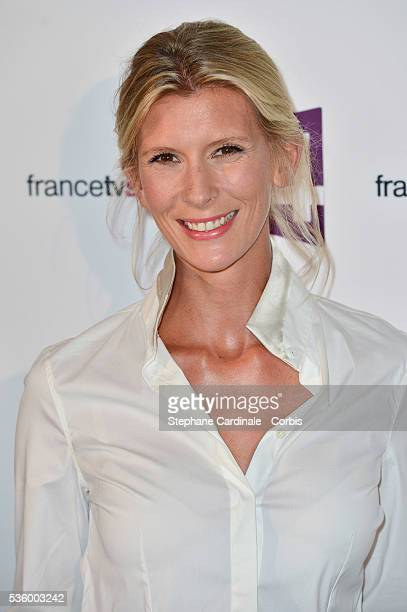 Helene Gateau attends 'France Televisions' Photocall at Palais De Tokyo on August 26 2014 in Paris France