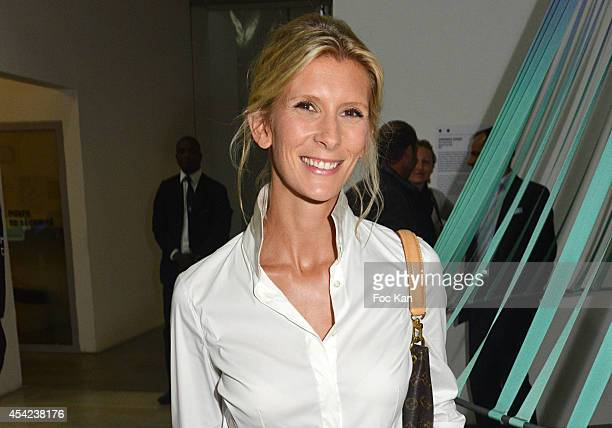 Helene Gateau attends the 'Rentree de France Televisions' at Palais De Tokyo on August 26 2014 in Paris France