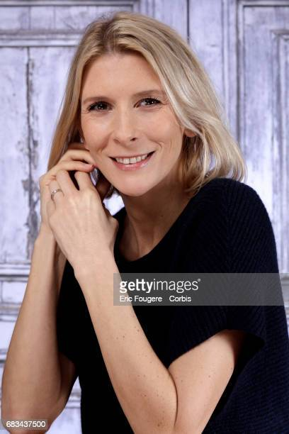 Helene Gateau poses during a portrait session in Paris France on