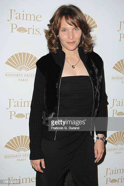 Helene Grimaud attends the Hotel Mandarin Oriental Inauguration at Hotel Mandarin Oriental on September 22 2011 in Paris France