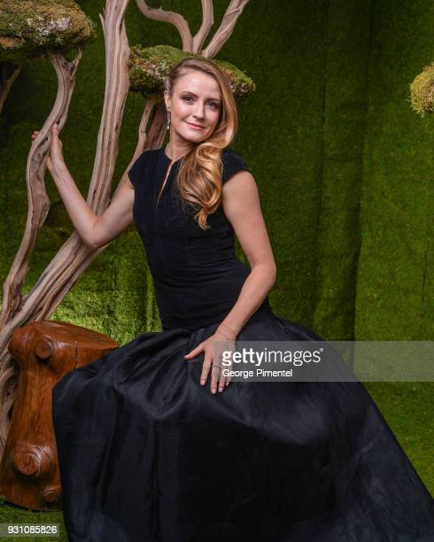 Helene Joy poses in the 2018 Canadian Screen Awards Broadcast Gala Portrait Studio at Sony Centre for the Performing Arts on March 11 2018 in Toronto...