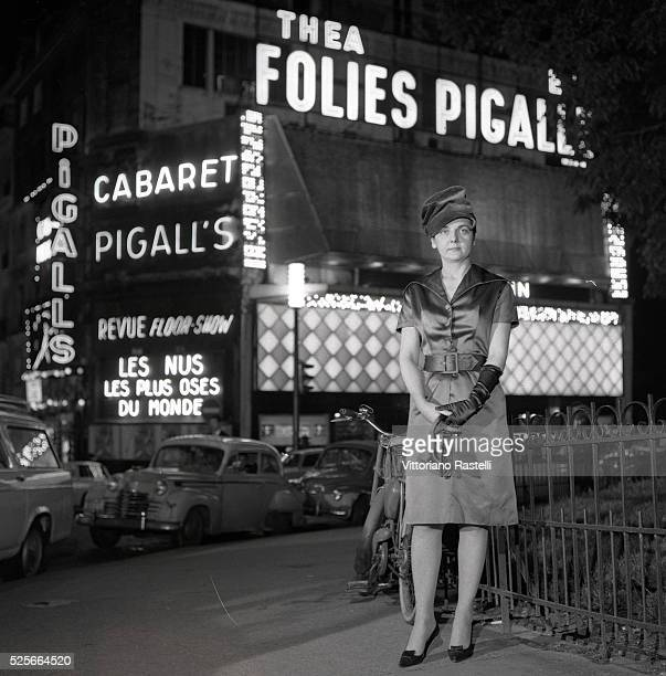Helene Martini aka the Empress of the Night is the owner of several rooms in Pigalle including the cabaret Folies Pigalle and Pigalle's