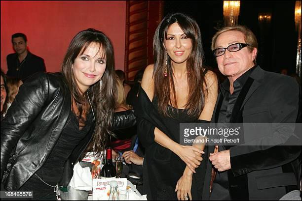 Helene Segara and Sabrina Ferilli at Dalida TV Film Tribute To The Singer