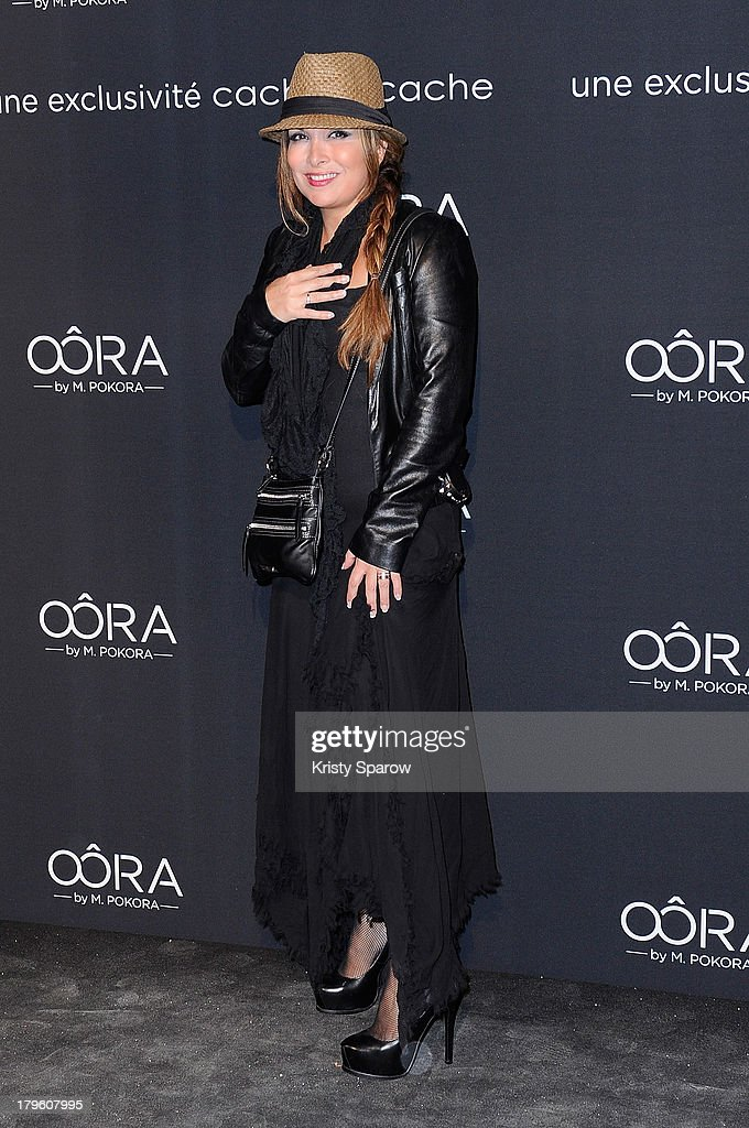 'OORA' Womenswear Collection, Designed By French Singer Matt Pokora : Photocall In Paris