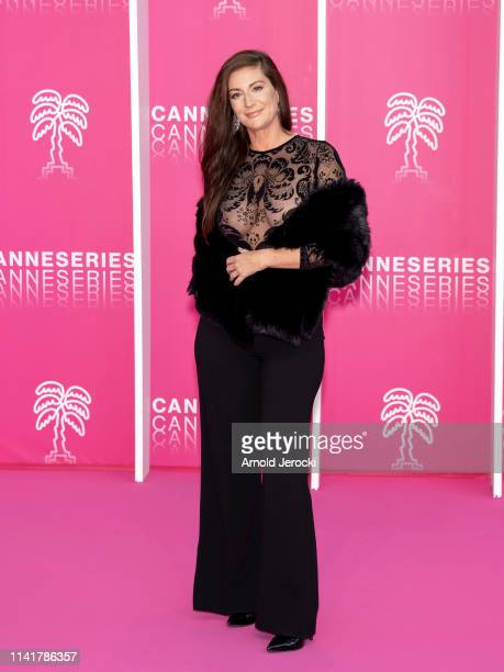 Helene Semonin attends the 2nd Canneseries International Series Festival Closing Ceremony on April 10 2019 in Cannes France