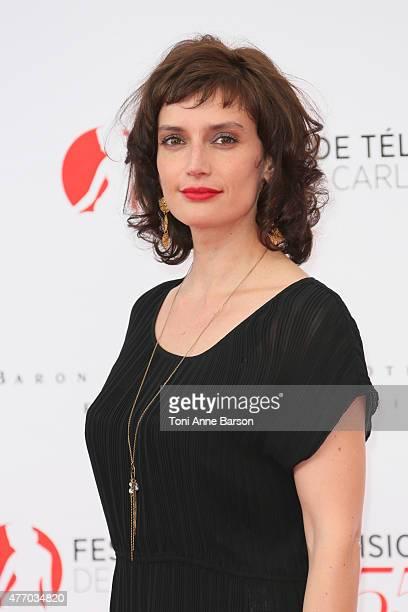 Helene Seuzaret attends the 55th Monte Carlo TV Festival Opening Ceremony at the Grimaldi Forum on June 13, 2015 in Monte-Carlo, Monaco.