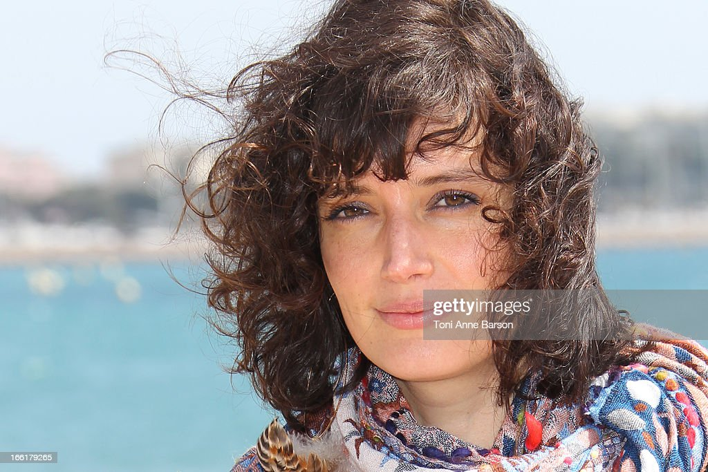 Helene Seuzaret attends the 'Marseille' photocall on April 9, 2013 in Cannes, France.