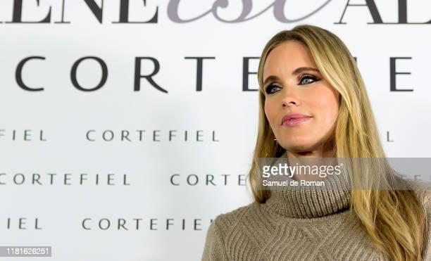 Helene Svedinpresents new Cortefiel campaign at Los Gallos on October 17 2019 in Madrid Spain
