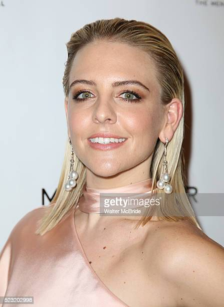 Helene Yorke attending the Broadway Opening Night Performance After Party for 'American Psycho' at Stage 48 on April 21 2016 in New York City