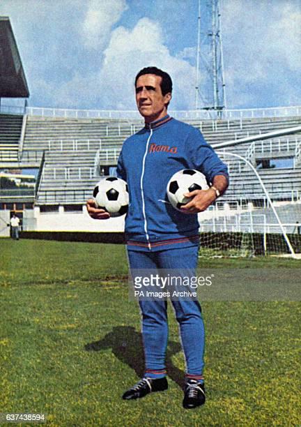 Helenio Herrera Roma Coach