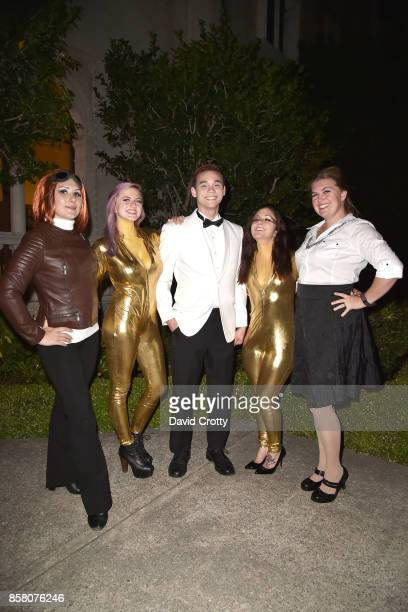 Helga Brandt Nicole Pesce Ferris Franzen Amanda Morana and Gigi Penton attend Hearst Castle Preservation Foundation Benefit Weekend 'James Bond 007...