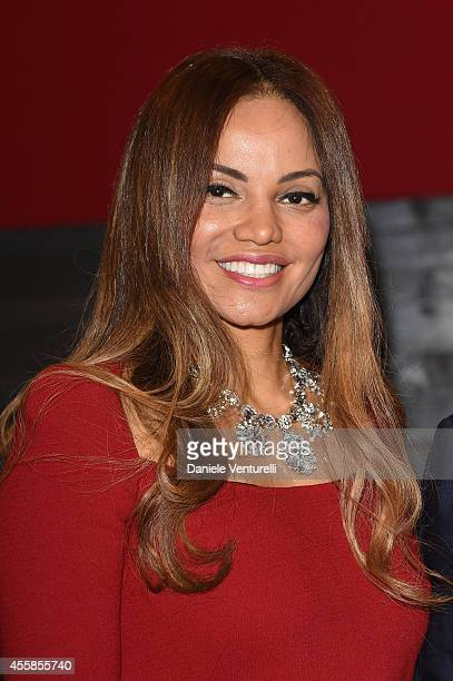 Helga Costa attends the Dolce & Gabbana show during the Milan Fashion Week Womenswear Spring/Summer 2015 on September 21, 2014 in Milan, Italy.