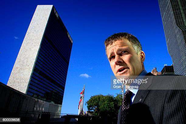 Helge Lund Stock Photos and Pictures | Getty Images