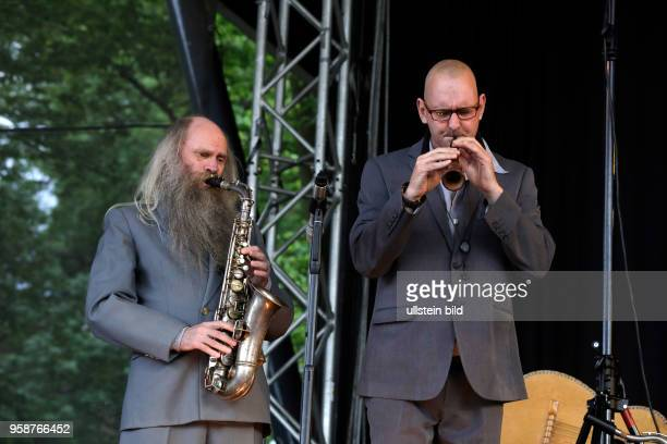 Helge Schneider '240 years of 'Singende Herrentorte''Tour Helge Schneider mit Teekoch Bodo Oesterling Willy Ketzer Sandro Giampiedro Peter Thoms...