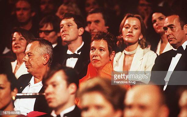 Helge Weindler Doris Dörrie Bei Verleihung Deutscher Filmpreis 1995