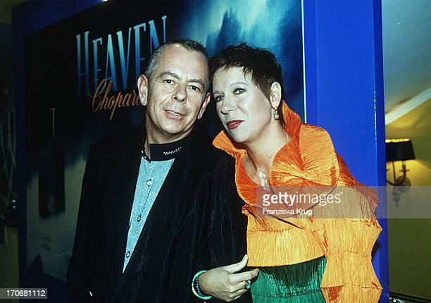Helge Weindler Und Doris Dörrie Beim Deutschen Filmball 1995