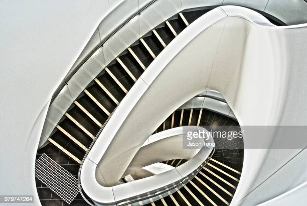 helical spiralling - university of sydney stock pictures, royalty-free photos & images