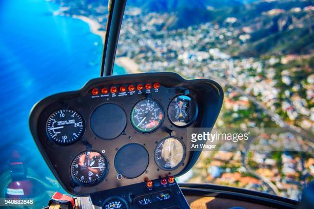 helicopter cockpit - inside helicopter stock pictures, royalty-free photos & images