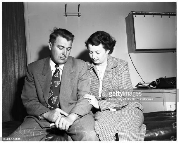 Helicopter crash at Los Angeles International Airport 9 April 1952 Fred Milam Mrs Lois Milam wifeJohn P Kane 33Mrs Kay Kane wife Los Angeles...