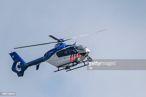 """helicopter eurocopter - ec135 of the dutch police aviation servi - """"sjoerd van der wal"""" or """"sjo"""" stock pictures, royalty-free photos & images"""