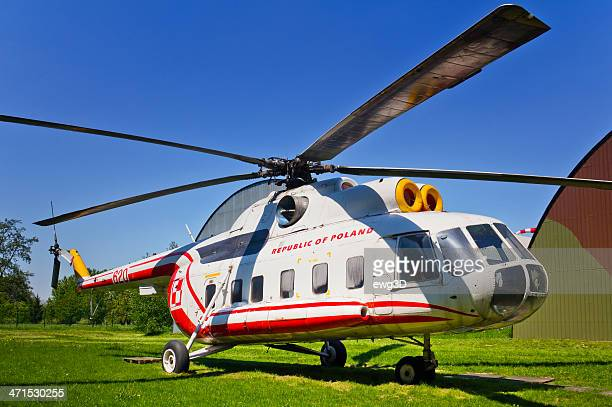 helicopter mi-8s - polish culture stock pictures, royalty-free photos & images