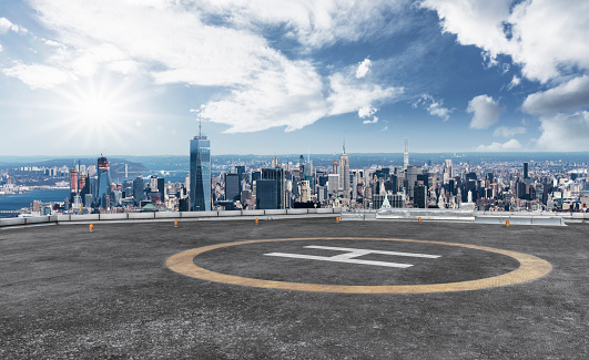 helicopter parking front of world trade center - gettyimageskorea
